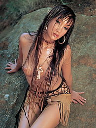 Katsuni Shares Cock Outdoors with Her Tribal Girlfriend pictures at find-best-babes.com