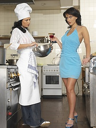 2 horny little chefs get into each other in the kitchen pictures at find-best-mature.com