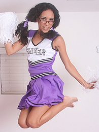 Brunette cheerleader Tia Cyrus get her pussy rammed hard pictures at find-best-babes.com