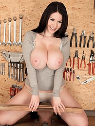 Tool Time Girl pictures at kilovideos.com