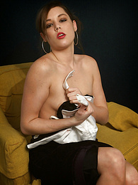Small breasted babe Leigh pulls out her favorite vibrator pictures at freekilomovies.com