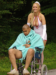 The nurse get fucked by her not so ill patient pictures