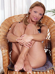 Cute little Tiffany gets her dildo lubed up and ready pictures at freekiloporn.com