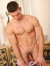 Big stud David shows off his ripped body pictures