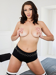 Lustful Landlord Bella Rolland Craves For Huge Cock P - She takes out his huge cock and they fuck like freaks pictures at find-best-ass.com