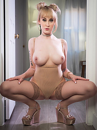 Sensual Blonde MILF Passionated Sex P - MILF sucks like a pro and focus on get his pole real hard pictures at find-best-videos.com