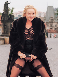 Welcome To Prague with the Exhibitionist Beauty Silvia Saint pictures