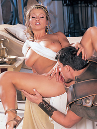 Rita Faltoyano, the Empress and Her Warriors Have a Hot DP pictures