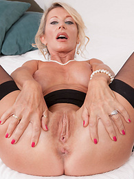Happy MILF Marina Beaulieu Tastes her First Big Black Cock pictures at find-best-panties.com