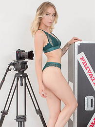 Private Casting Blonde Ria Wants Anal Sex and Taste of Cum pictures at freekilosex.com