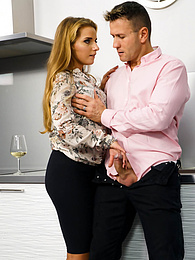 Cute Blonde Sofi Goldfinger Enjoys Nasty Rimming and Anal pictures