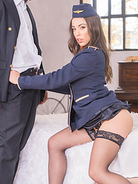 Anastasia Brokelyn, A Very Horny Flight Attendant Goes Black pictures