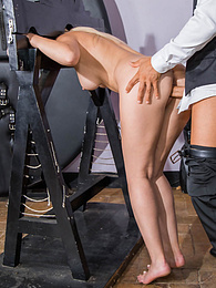 Beautiful Amaris and her Surprsingly Filthy BDSM Fantasy pictures at freekiloporn.com