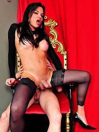 Sexy Tranny Natasha Gets Her Asshole Fucked Hard pictures at find-best-panties.com