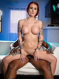 Tana Lea Interracial Obsession P - Tana spread wide open to receive deep penetration pictures at find-best-panties.com