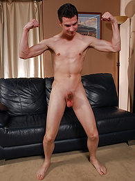 Zack Davis strokes his thick cock after wrestling practice pictures at find-best-hardcore.com