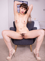 Pretty Luna Rival in Red Lipstick Gets a Hard BBC in the Ass pictures
