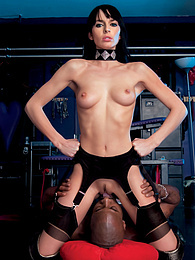 Pirate Presents Sexy Franki In A Kinky Interracial Scene pictures at find-best-lingerie.com