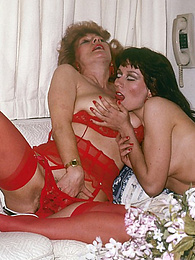 Playful lesbos turn each other on by licking each other out pictures at find-best-lingerie.com