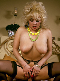 Blonde babe gets down and nasty with black rock hard cock pictures
