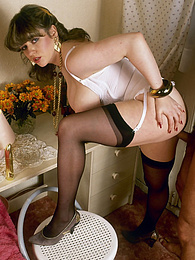 Retro sluts show us how it was done before it all got fancy pictures at find-best-panties.com