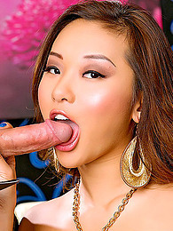 Asian doll uses her warm lips to prepare this cock for her needy warm cunt pictures at kilopics.net
