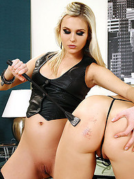 Vulgar and gorgeous head master is punishing her insatiable slave in the room pictures at find-best-babes.com