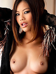 Horny Asian has sexy pierced belly button and perky natural tits pictures at find-best-ass.com