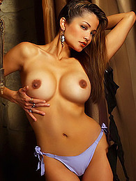 Alley Baggett blows your mind in her lovely outfit and by teasing pictures