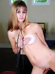 A fairly mind-blowing strip show from a leggy barely legal blondie pictures at freekiloclips.com