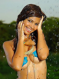 South American cuttie posing in Amazon forest pictures at dailyadult.info