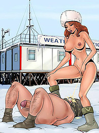Cartoon femdom bondage and pissing pictures at kilomatures.com