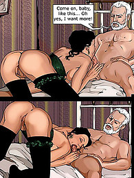 Sexy comic starring Matrix characters pictures at freekilomovies.com