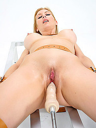 Tied down girl dildo fucking pictures