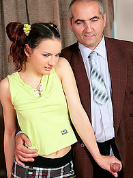 Business man fucks short skirt teen pictures at freekiloclips.com