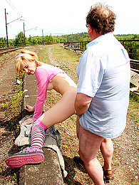 Old and young fucking outdoors pictures at freekiloclips.com