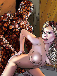 Jessica Alba fucked in comic pictures at freekiloporn.com