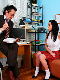 Schoolgirl nailed by her teacher pictures at find-best-pussy.com