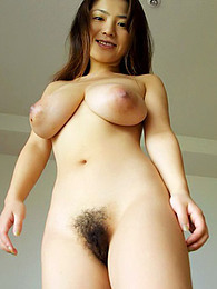 Asian girl has big naturals pictures
