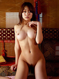 Perky round Asian boobs pictures