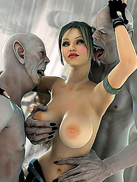 Aliens fucking babes in 3d pictures at dailyadult.info