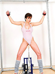 Bound milf and dildo machine pictures at freekilosex.com