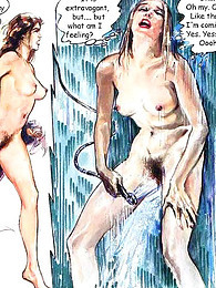 Great art in sexy comic pictures at find-best-mature.com