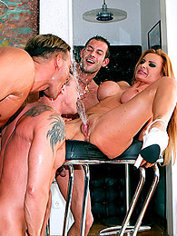 Gangbang for redheaded whore pictures at freekilosex.com