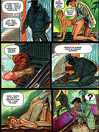 Kinky comic with dirty play pictures