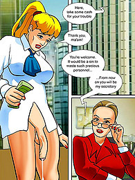 Shemale sex in office comic pictures