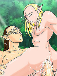 Outdoor cartoon elves fuck hard pictures
