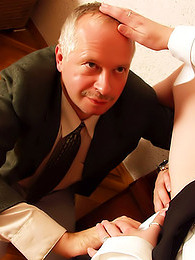 She seduces the older man pictures at find-best-pussy.com