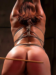 Pretty girl loves rope bondage pictures at find-best-ass.com