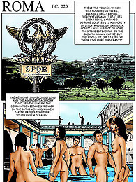 Arousing comic with an orgy pictures at freekilomovies.com